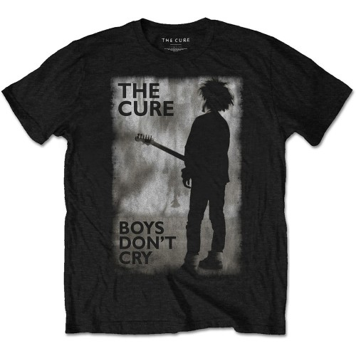 Tricou The Cure Boys Don't Cry Black & White