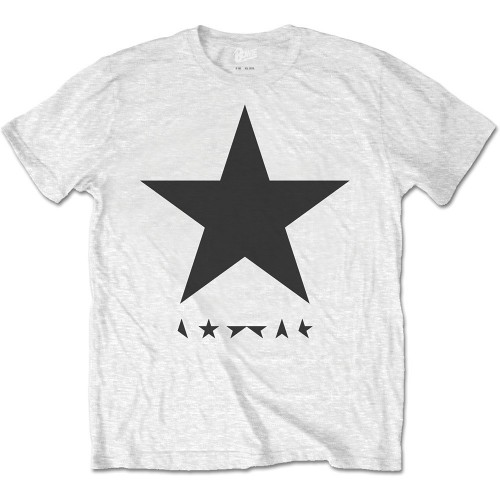Tricou David Bowie Blackstar (on White)