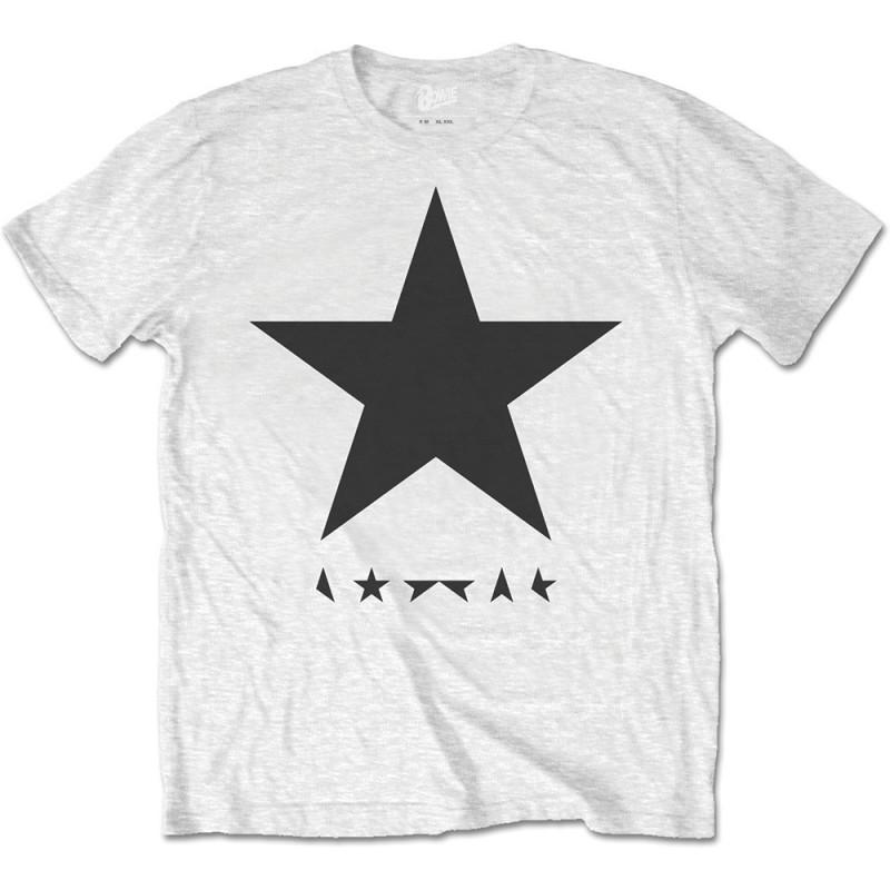 Tricou David Bowie Blackstar (on White)