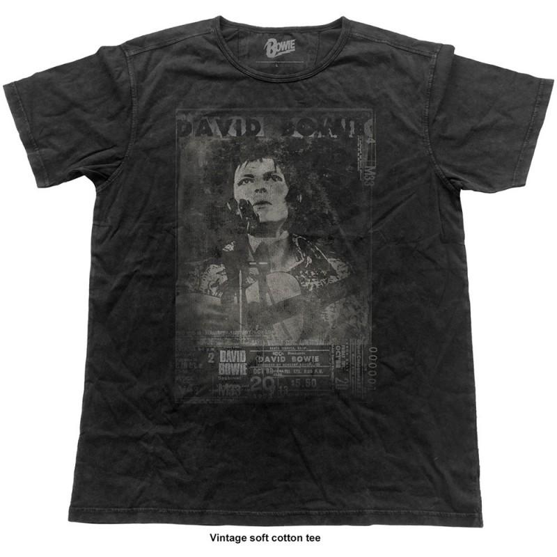 Tricou David Bowie Live Vintage