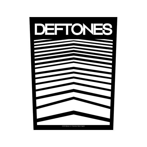 Back Patch Deftones Abstract Lines