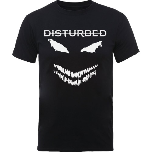 Tricou Disturbed Scary Face Candle