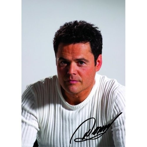 Carte Postală Donny Osmond In White Shirt