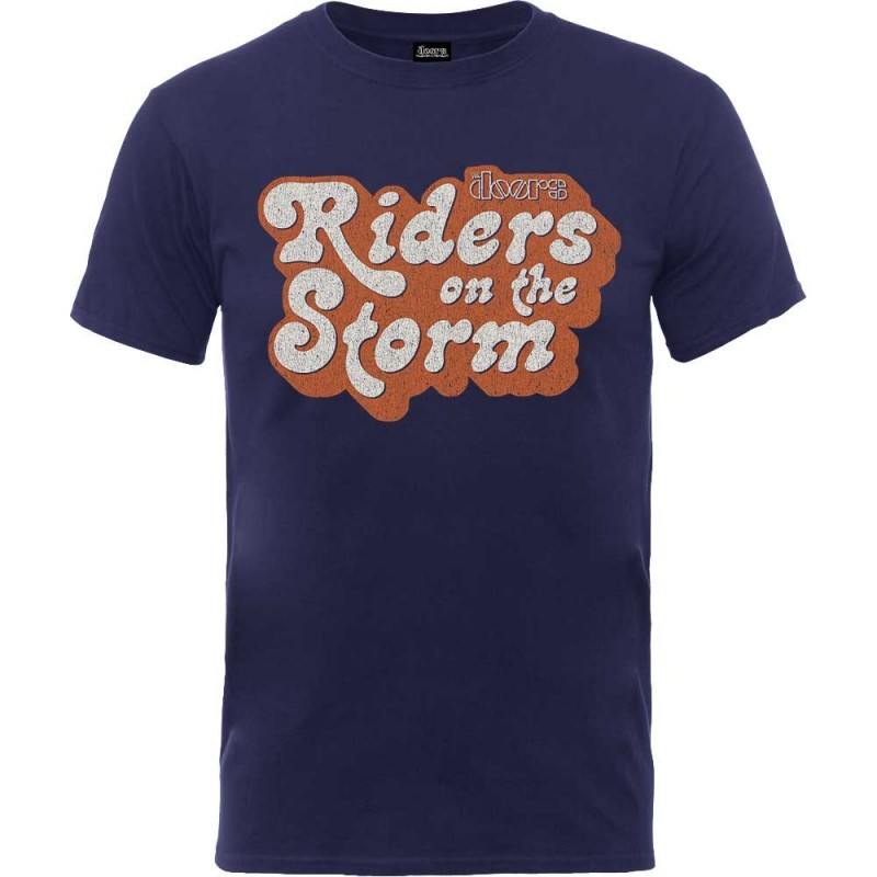 Tricou The Doors Riders on the Storm Logo