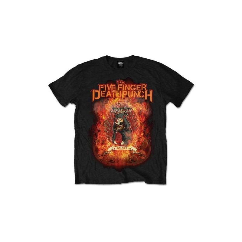 Tricou Five Finger Death Punch Burn in Sin