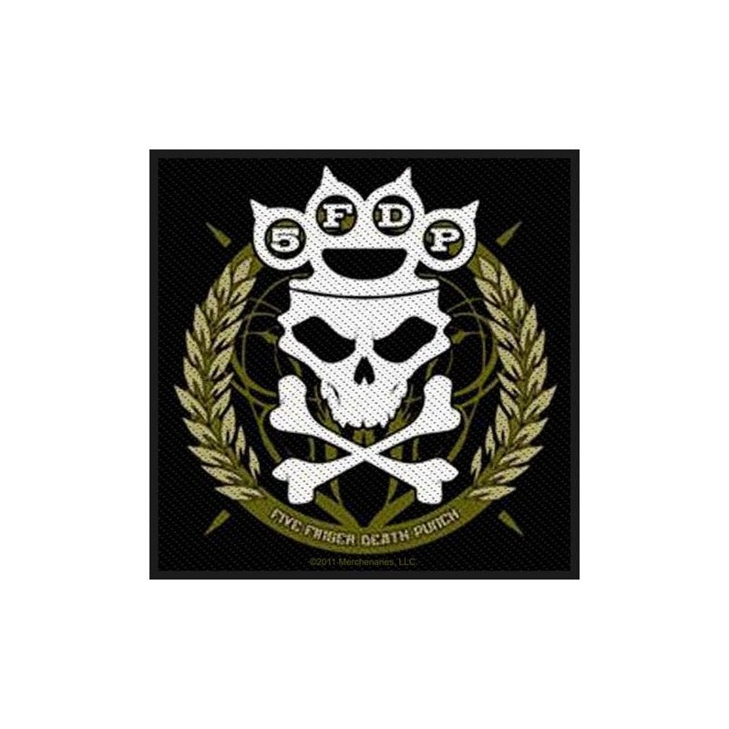 Patch Five Finger Death Punch Knuckles Crown