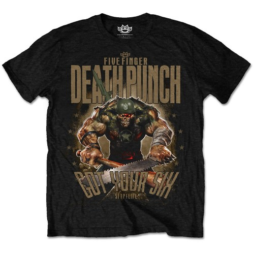 Tricou Five Finger Death Punch Sgt Major