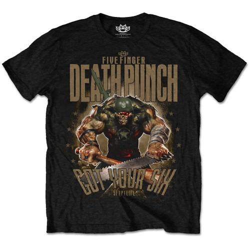 Tricou Five Finger Death Punch Sgt Major
