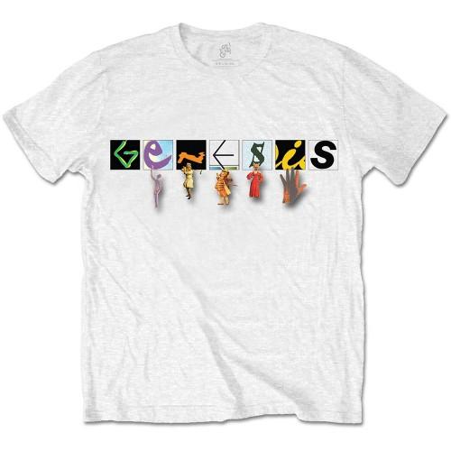 Tricou Genesis Characters Logo