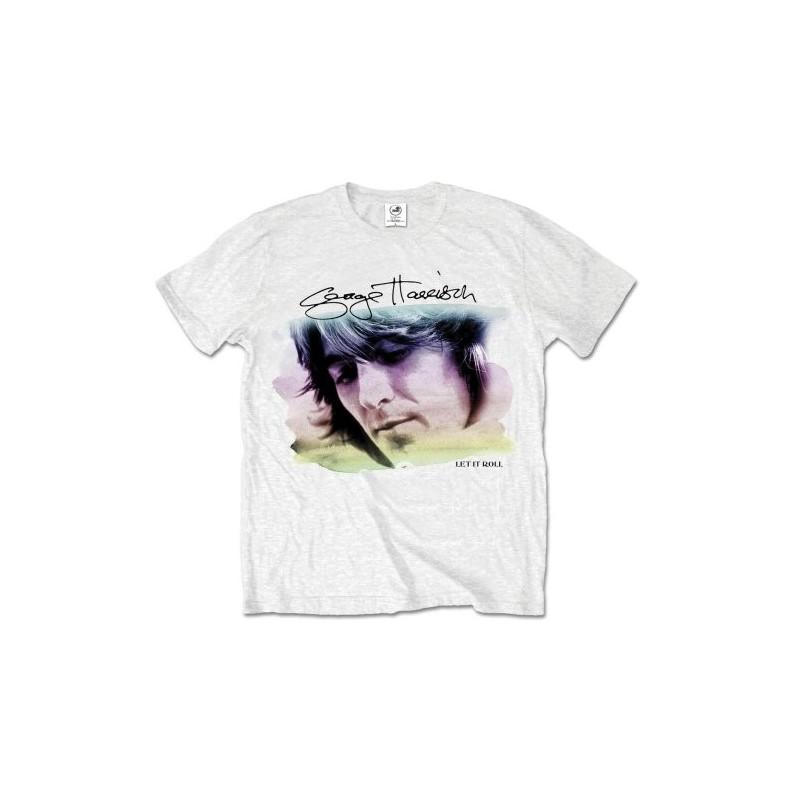 Tricou George Harrison Water Colour Portrait