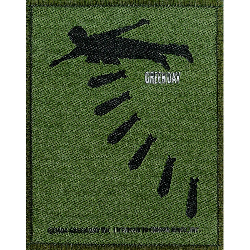 Patch Green Day Bombs