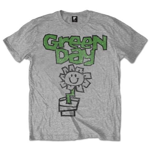 Tricou Green Day Flower Pot