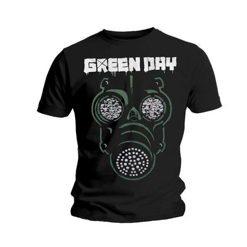 Tricou Green Day Green Mask