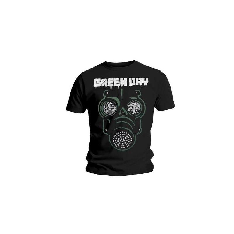 Tricou Green Day Green Mask
