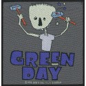 Patch Green Day Hammer Face