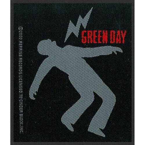 Patch Green Day Lightning Bolt
