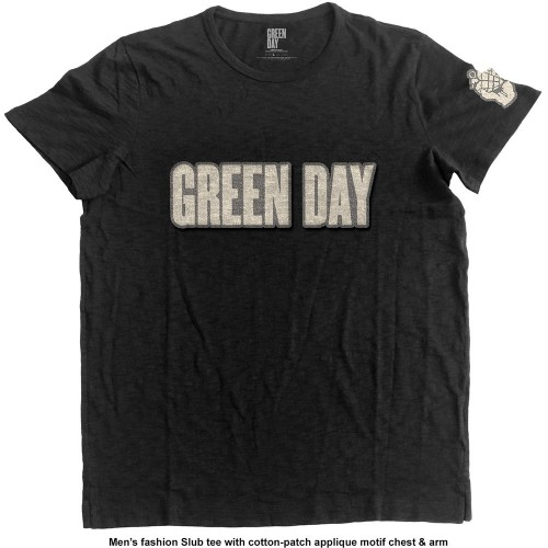 Tricou Green Day Logo & Grenade