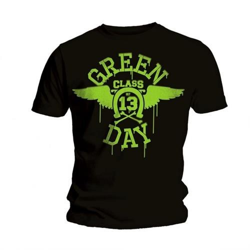 Tricou Green Day Neon Black