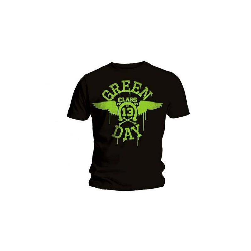 Tricou Green Day Neon Black