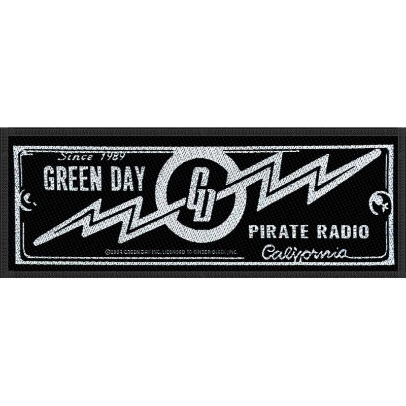 Patch Green Day Pirate Radio