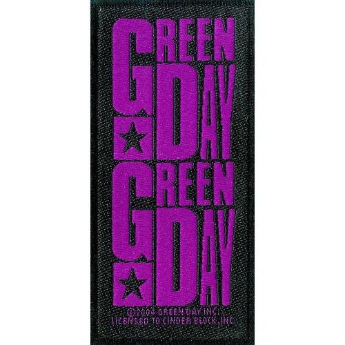 Patch Green Day Purple Logo