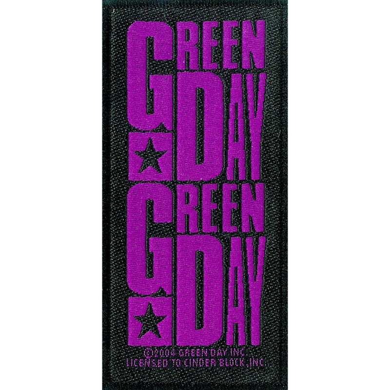Patch Green Day Purple Logo