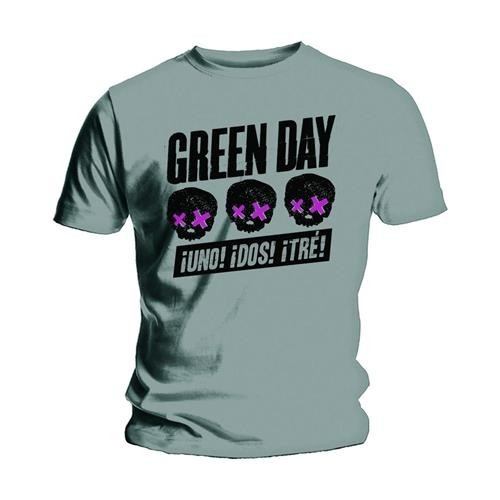 Tricou Green Day Three Heads Better Than One