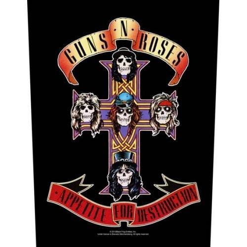 Back Patch Guns N' Roses Appetite For Destruction
