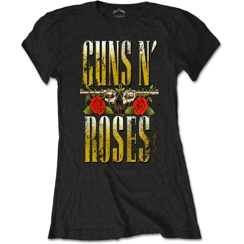 Tricou Damă Guns N' Roses Big Guns