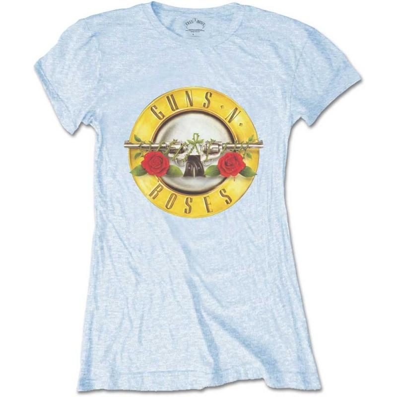 Tricou Damă Guns N' Roses Classic Bullet Logo