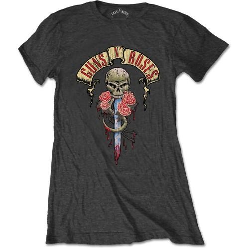 Tricou Damă Guns N' Roses Dripping Dagger