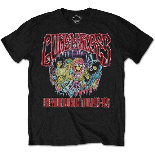 Tricou Guns N' Roses Illusion Monsters