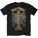 Tricou Guns N' Roses Skull Cross 80s