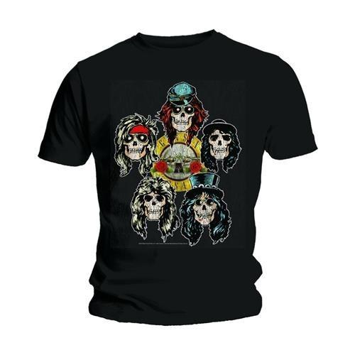 Tricou Guns N' Roses Vintage Heads