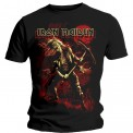 Tricou Iron Maiden Benjamin Breeg Red Graphic