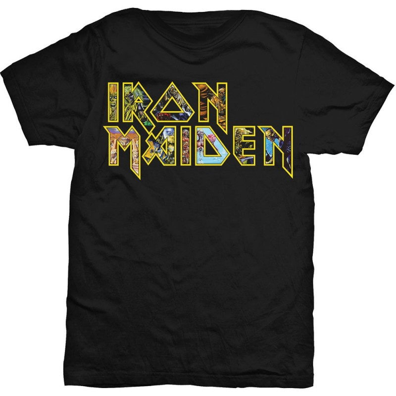 Tricou Iron Maiden Eddie Logo