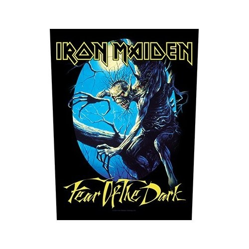 Back Patch Iron Maiden Fear Of The Dark