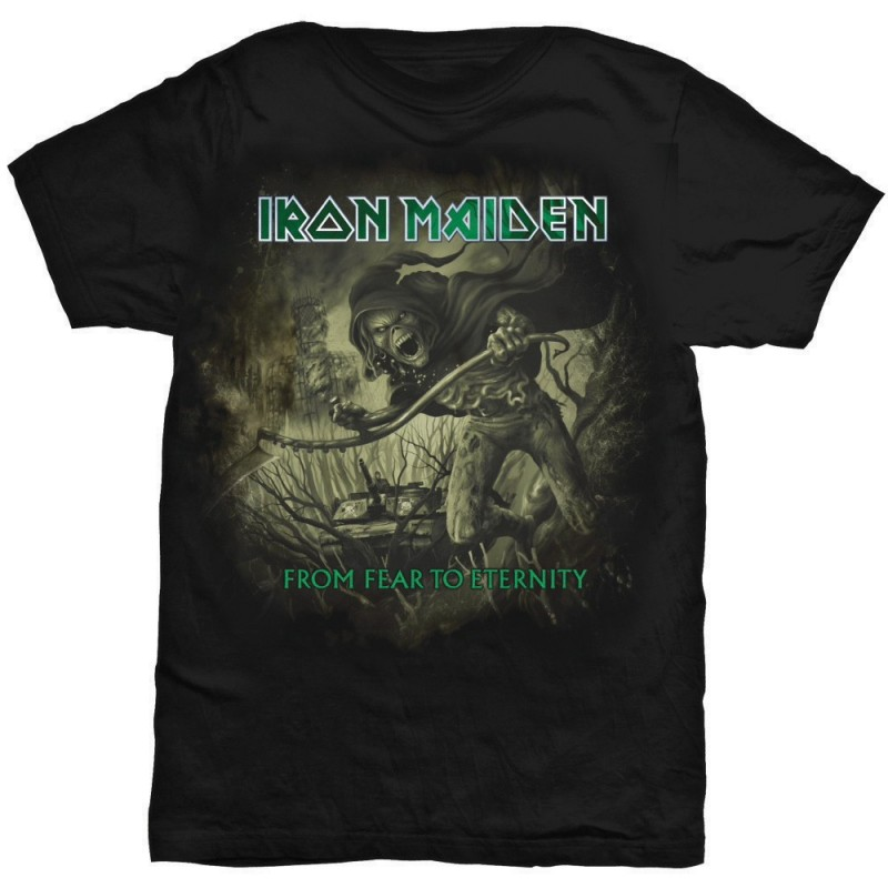 Tricou Iron Maiden From Fear To Eternity Distressed