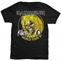 Tricou Iron Maiden Killer World Tour 81
