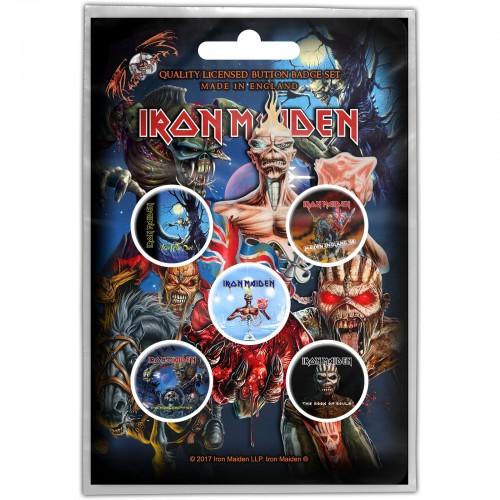 Set Insigne Iron Maiden Later Albums