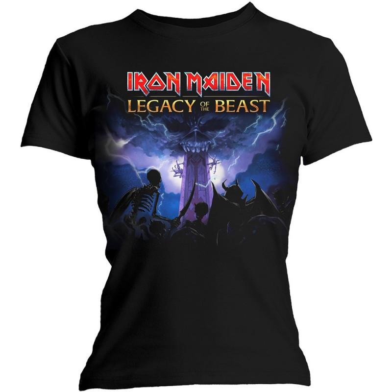 Tricou Damă Iron Maiden Legacy Army
