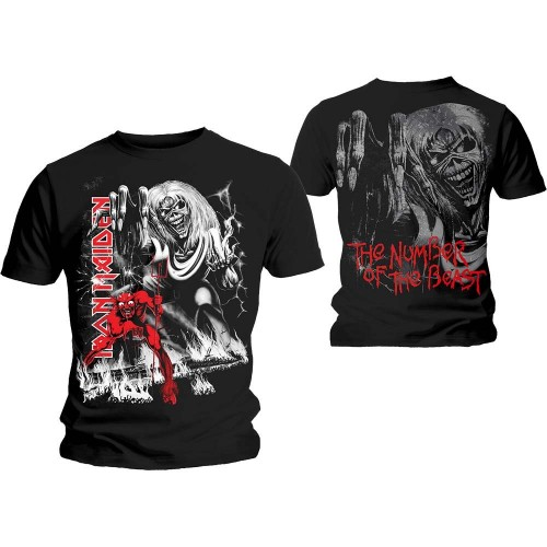 Tricou Iron Maiden Number of the Beast Jumbo