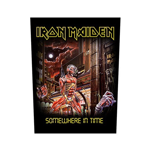 Back Patch Iron Maiden Somewhere In Time