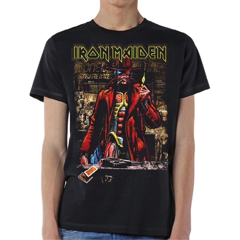Tricou Iron Maiden Stranger Sepia