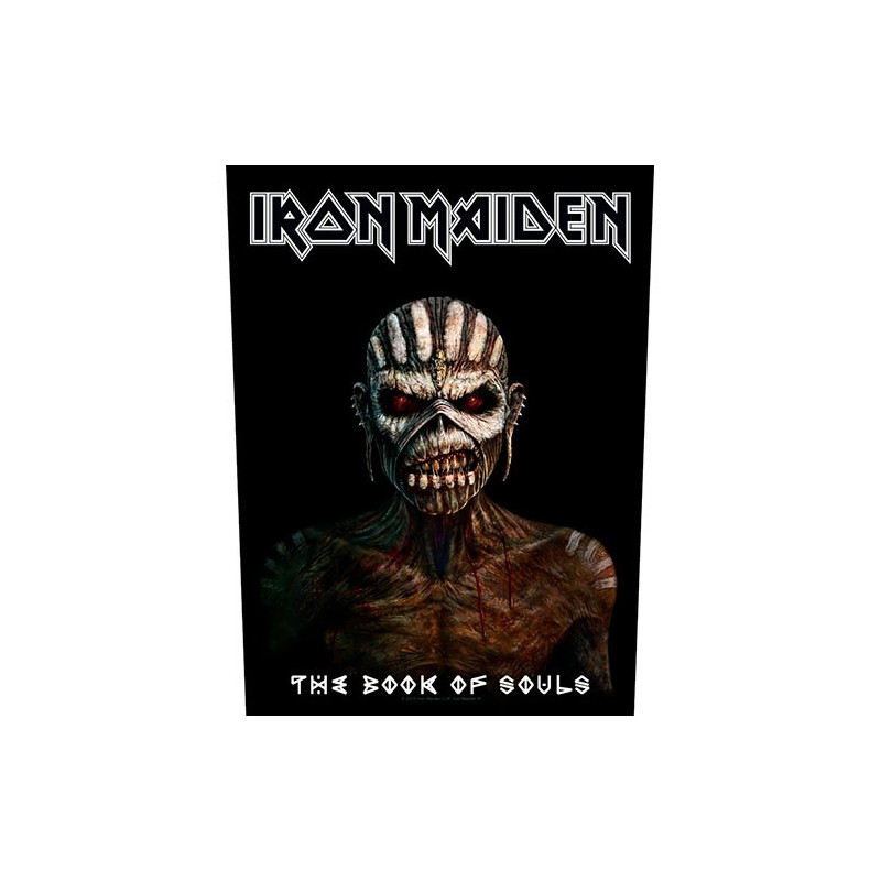 Back Patch Iron Maiden The Book Of Souls
