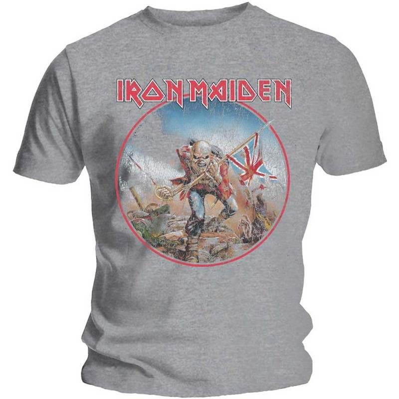 Tricou Iron Maiden Trooper Vintage Circle