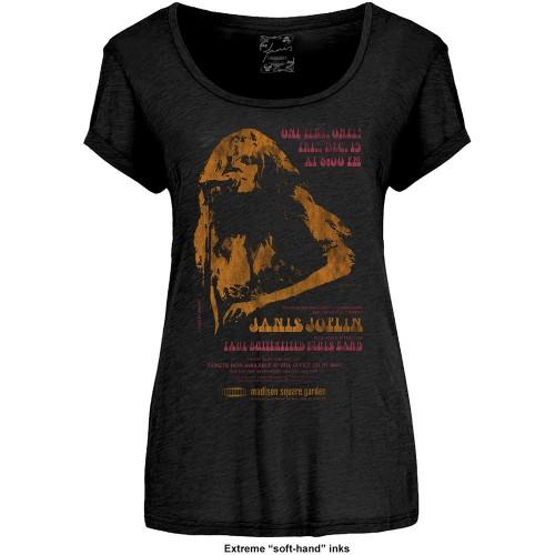 Tricou Damă Janis Joplin Madison Square Garden