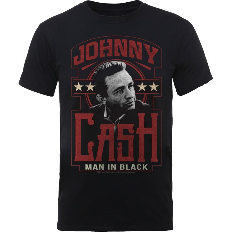 Tricou Johnny Cash Man In Black