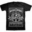 Tricou Johnny Cash Music Rebel