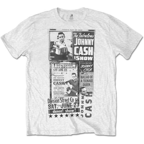Tricou Johnny Cash The Fabulous Johnny Cash Show